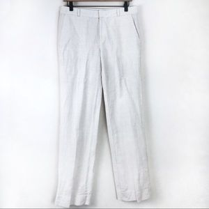 Banana Republic Martin Fit Linen Pants Size 4
